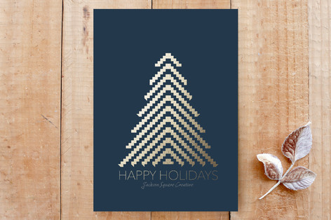 Pixel Christmas Tree Cards
