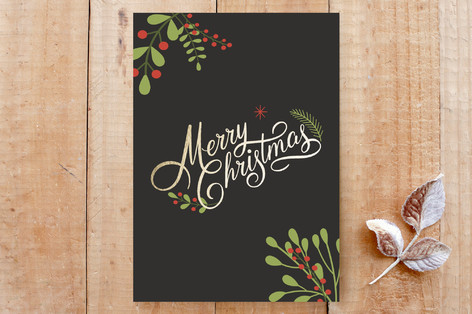 Holly & Berries Cards