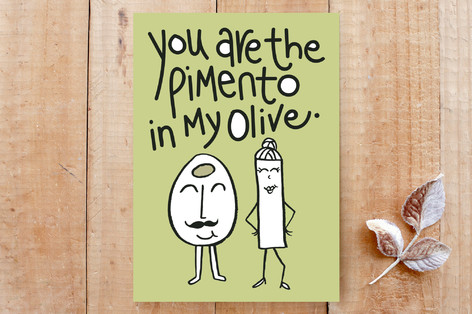 You Are The Pimento in my Olive Cards