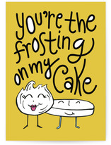 You're The Frosting on my Cake Cards