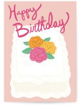 Birthday Sheet Cake by Charla Pettingill