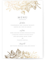 Gilded Wildflowers by Smudge Design