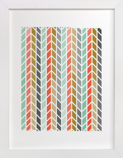 Knit One Purl Two  Art Print