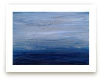 silver sky Wall Art Prints