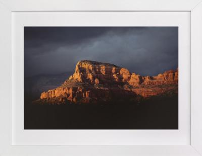 Storm Over Sedona  Art Print