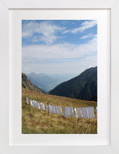 Laundry Day #2  Art Print