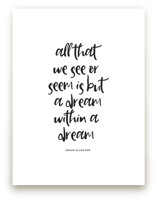 But a Dream by Gray Star Design