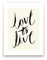love to live by pottsdesign