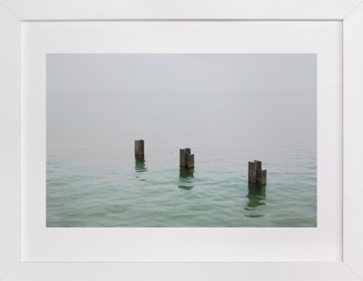Three in the sea  Art Print
