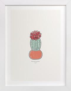Cactus fig. 3  Art Print