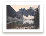 Lake Agnes by Korry Brown