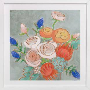 A Bouquet for Kaitlin  Art Print