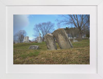 Vermont Cemetery   Art Print