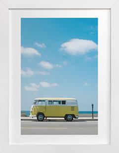Yellow Van II  Art Print