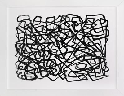 Random Lines  Art Print