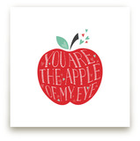 Lettered Apple of My Ey... by curiouszhi design