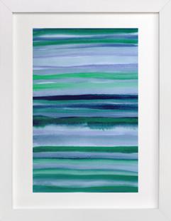 Stripes du Jour #1  Art Print