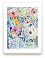 Watercolor Flowers 3 by Susanna Nousiainen