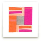 Modern Quilt Block by Kelly Nasuta