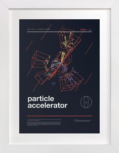 Particle Accelerator  Art Print