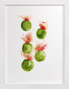 Exploding Olives  Art Print