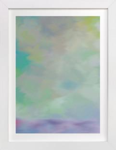 Purple Mist  Art Print