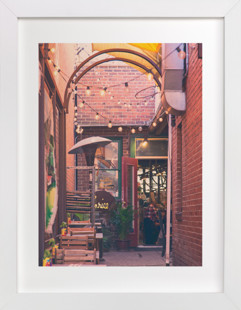 Brick Hideaway  Art Print
