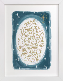 O Holy Night Sky  Art Print