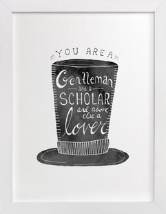 Gentleman & Scholar  Art Print