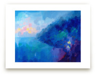 Positano Sunset Wall Art Prints