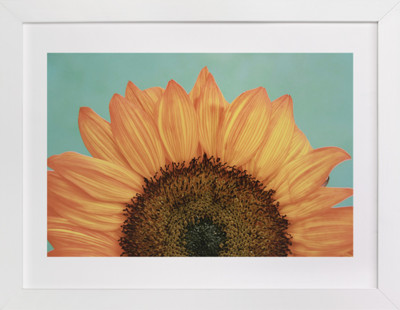 Happiness is a Sunflower  Art Print