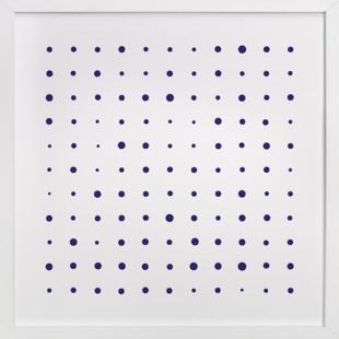 Messy Dots  Art Print