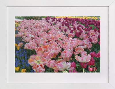 Pretty Garden 1  Art Print