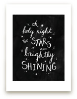 Oh Holy Night Ink by Janelle Wourms