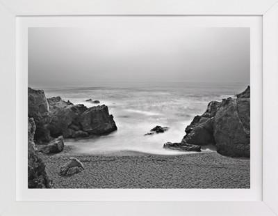 Hidden Beach in Point Lobos, California  Art Print