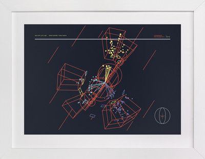 Particle Accelerator Horizontal  Art Print