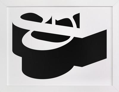 Dimensional Type  Art Print