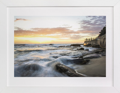 Sunrise at Bronte  Art Print