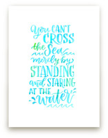 Crossing the Sea by Laura Bolter Design