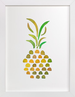 Pineapple Tropicana  Art Print