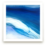 teal reef Wall Art Prints
