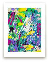 Color Burst I by Pooja Pittie