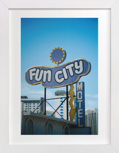 Fun City  Art Print