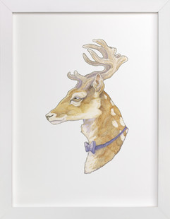 Mr Deer  Art Print