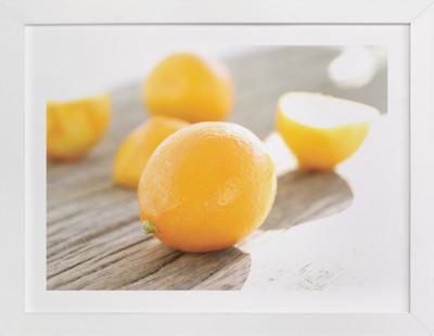 Bright Meyer Lemons  Art Print