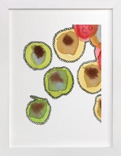 Fantastic Orbs 3  Art Print