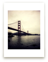 Mysterious Golden Gate by Noonday Design