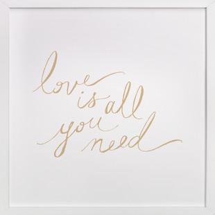 Love Lyrics  Art Print