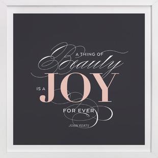A Joy Forever  Art Print