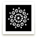 Floral Mandala 2 by Jennifer Pace Duran